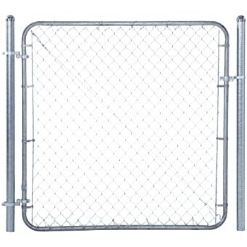 Chain Link Fence Walk-through Gate Kit - Adjust-A-Gate Chain Link Gate  Building Kit - This fence gate kit is perfect for replacing existing  sagging