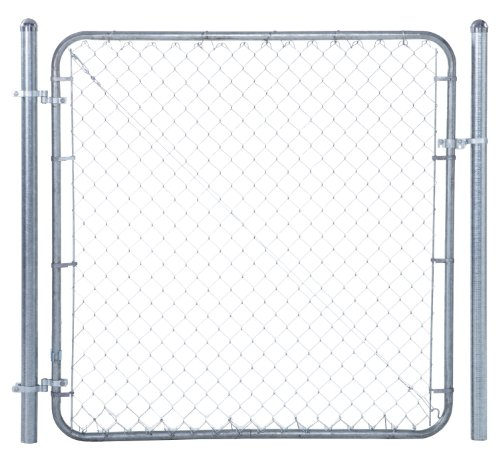 Chain Link Fence Walk-through Gate Kit - Adjust-A-Gate Chain Link Gate Building Kit - This fence gate kit is perfect for replacing existing sagging gates or building new ones. (24