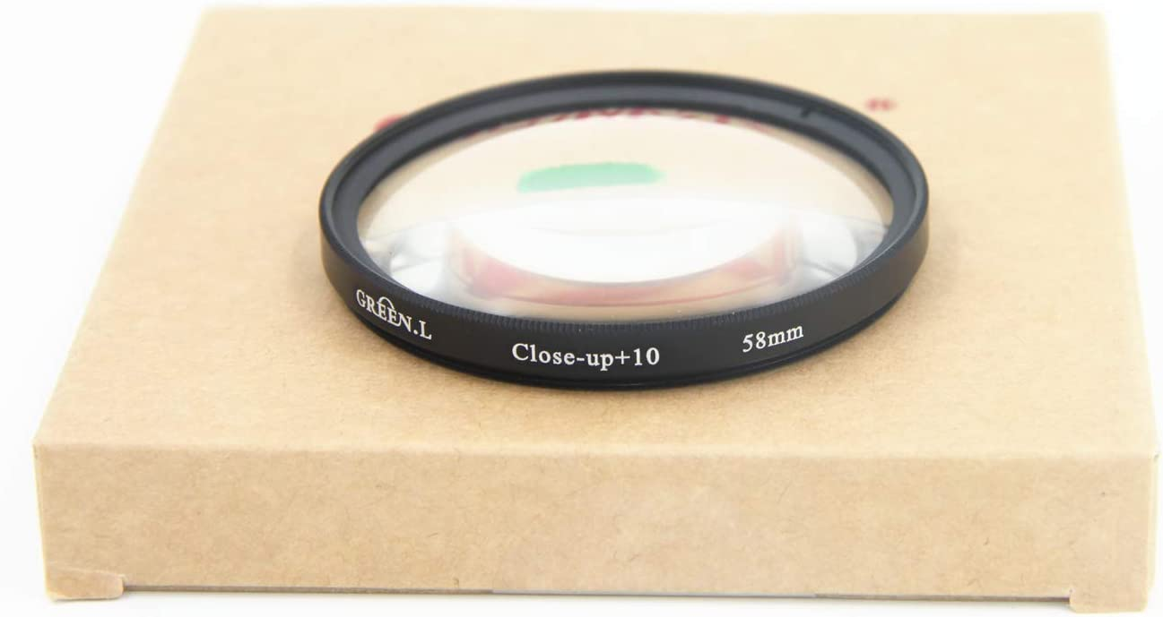 GREEN.L 77mm Close up Macro Filter 10 Diopter 10x Filter with Filter Pouch