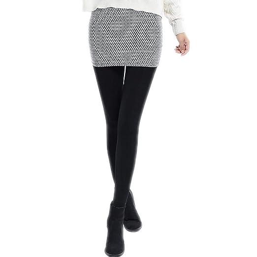 CNNSJSK Comodo Leggings Pantalones de la Falda de Las Mujeres ...