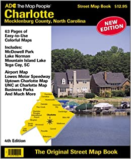 Book Charlotte/Meckenburg County, North Carolina Atlas