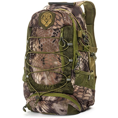 Lucky Bums Kid's Tracker II Backpack, Kryptek Highlander
