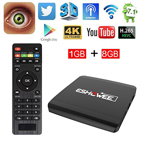 Android Smart TV Box A95X Amlogic S905X Quad core - 4