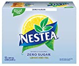 Nestea Zero Iced Tea, 341mL cans, Pack of 12