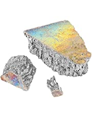 1000g Bismuth Thermal Bismuth Metal Ingot Chunk, 99.99% Pure Crystal Geodes for Making Crystals/Fishing Lures Used in Semiconductor, Superconductor, Flame Retardant, Pigment, Cosmetics