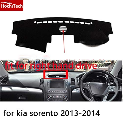 Type 4   black edge for kia Sorento 20092014 Right Hand Drive Dashboard mat Predective pad carStyling Interior Refit Sticker Mat Products  (color Name  Type 2, Size  Black Edge)