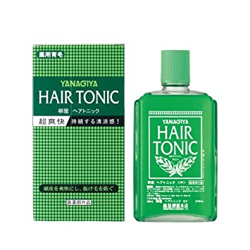 Amazon Yanagiya Hair Tonic Cooling Reduce Hair Loss Promote
