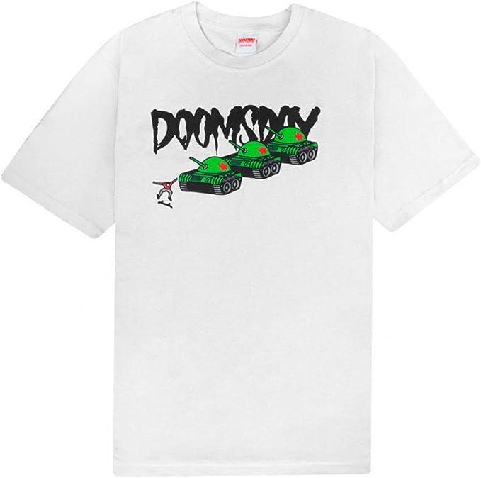 DOOMSDAY T-Shirt Maniche Corte UOMO Protest T-Shirt White S: Amazon.es: Ropa y accesorios