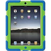 Griffin Technology GB35692 Survivor Case For iPad 2, 3, And 4 - Blue And Green