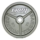Troy Barbell Premium Gray Olympic Plate Review