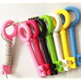Top-ishop Cute Cable Tie 5-psc Key Cord Organizer Earphone Wrap Winder/ Fixer Holder/cord Manager/cable Winder