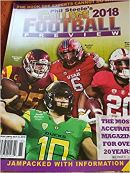 Phil Steele's 2018 College Football Preview - WEST COAST Cover BRAND