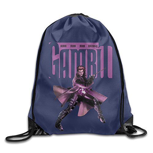[CYSKA Custom Gambit Character Poster Funny Backpack White] (Sly Cooper Cosplay Costumes)