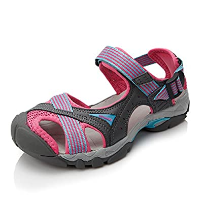 Clorts Women's Outdoor Hiking Athletic Sports Lightweight Amphibious Sandal SD202