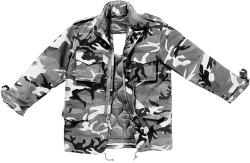 Amazon.com  City Camouflage Military M-65 Field Jacket 8994 Size 3X ... 8432b6ef047