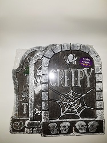 Halloween Decorative Outdoor Foam Headstones (Halloween Headstone)