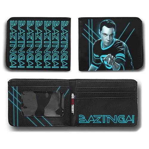 Big Bang Theory Ripple Junction Glowing Sheldon Bifold Wallet (Best Wallet For Ripple)