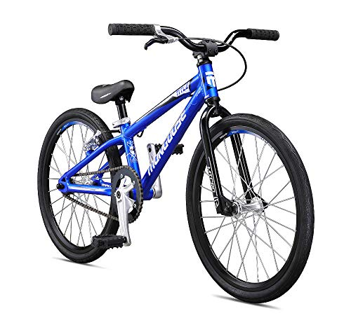 Cycling Hub Cartridge - Mongoose Title Micro BMX Race Bike for Beginner Riders, Featuring Lightweight Tectonic T1 Aluminum Frame and Internal Cable Routing with 20-Inch Wheels, Blue