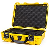 Nanuk DJI Osmo Waterproof Hard Case with Custom Foam Insert for DJI Gimbal Stabilizer Systems Including Osmo, Osmo+ and Osmo Mobile  - 910-OSM14 Yellow