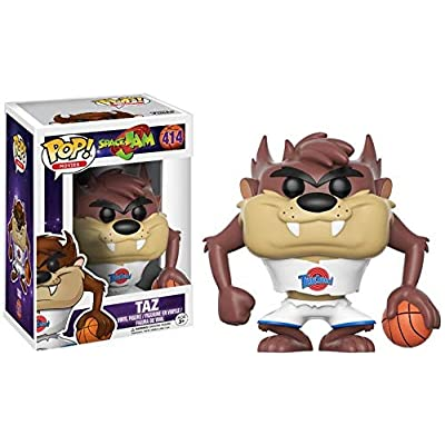Funko POP Movies Space Jam Taz (Styles May Vary) Action Figure: Funko Pop! Movies:: Toys & Games