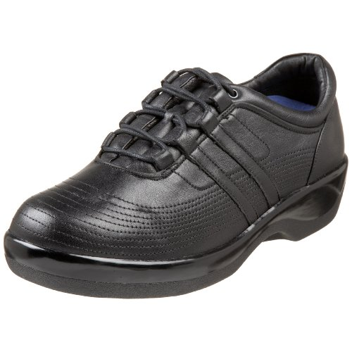 Aetrex Women's B7000 Oxford,Black,9 M (Aetrex Black Oxford)