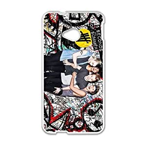 DAZHAHUI 5 SOS Space Cell Phone Case for HTC One M7