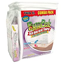 Buggy Beds Mattress Protector and Bed Bug Glue Trap Combo Twin Xl by BuggyBeds