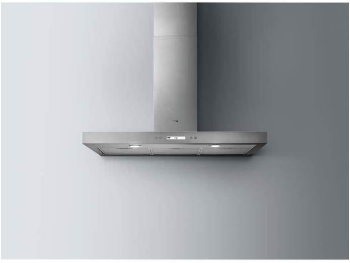 Turboair Digita IX/A/90 620 m³/h De pared Acero inoxidable - Campana (620 m³/h, Canalizado/Recirculación, A, A, D, 67 dB): Amazon.es: Hogar
