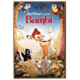 Silver Buffalo BA0136 Disney Bambi Classic Movie Poster, 13 by 19-Inch