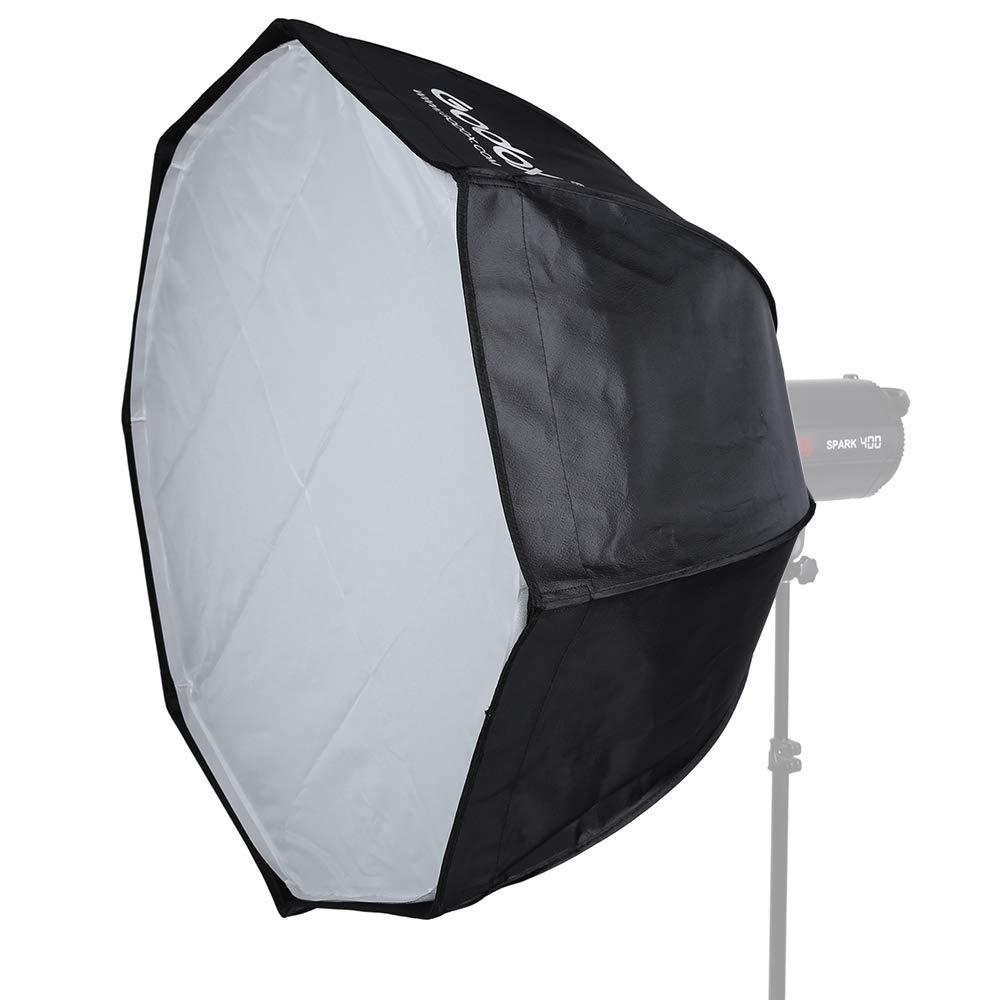 Godox SB-UE 47''/120cm Umbrella Octagon Softbox Reflector with Honeycomb Grid for Speedlight Flash(Bowens Mount) by Godox (Image #3)