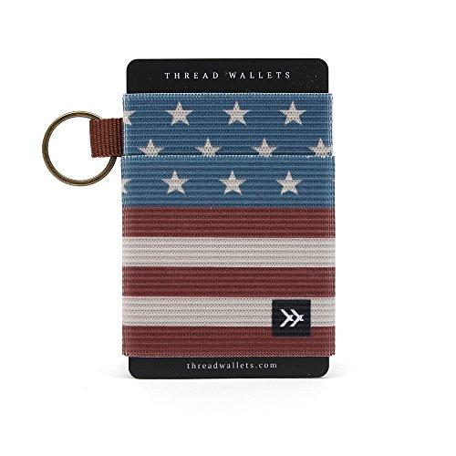 Thread Wallets - Slim Minimalist Wallet - Front Pocket Credit Card Holder for Men
