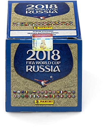 2018 Panini Russia FIFA World Cup Soccer Stickers Factory Sealed 50 Pack Box – Fanatics Authentic Certified