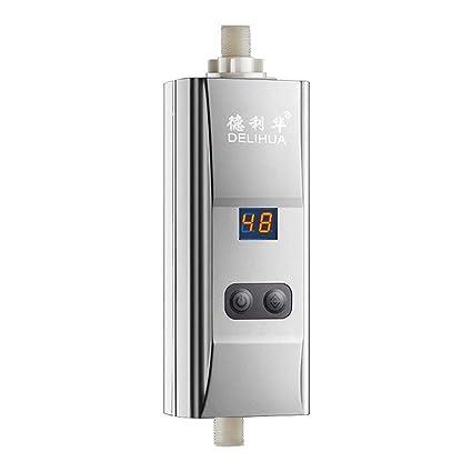 Calentador de agua eléctrico instantáneo 220V 5500W Calentador de agua de baño doméstico Calentador de agua