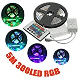 Best SUPERNIGHT Under Cabinet Lights - 5M 3528 SMD RGB Non-Waterproof 300 LED Strip Review