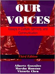 our voices essays in culture ethnicity and communication 4th edition Download and read our voices essays in culture ethnicity and communication 4th edition our voices essays in culture ethnicity and communication 4th edition.