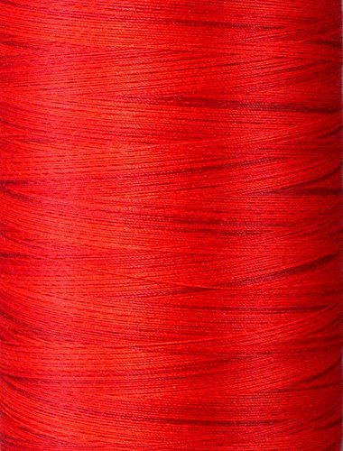 - YLI 2443022V 3-Ply Machine Cotton Quilting Variegated Thread, 3000 yd, Sunset