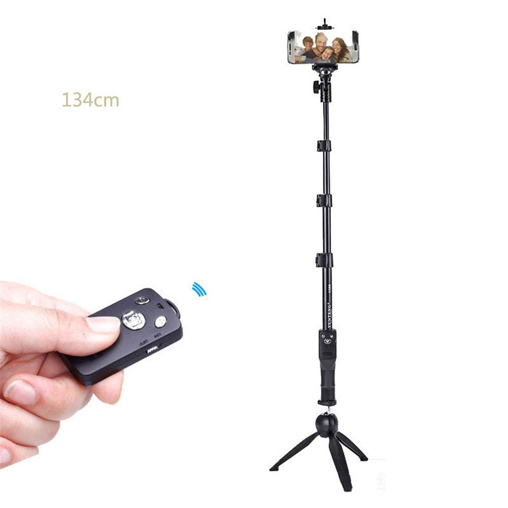 Wxnnx Phone Tripod, Universal Selfie Stick Tripod, with Wireless Remote, for Cell Phone,Camera,GoPro,iOS & Android,5 by Wxnnx