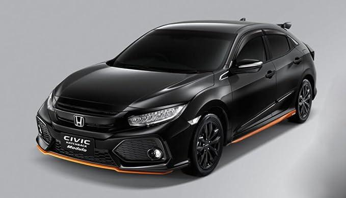 Genuine 2016 Honda Civic Scuff Plate lado paso Garnish Set, se adapta a todos los Honda Civic 2016 2017 Sedán Hatchback 4 5 puertas: Amazon.es: Coche y moto