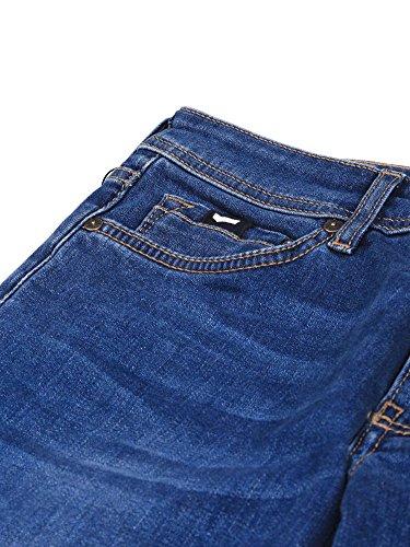 Blu Skinny Zip Uomo Gas Sax Jeans wqXxZvZ6