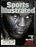 Mike Tyson Autographed Sports Illustrated Magazine