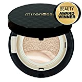 WORLD LAUNCH: 'Mirenesse Cosmetics' 10 Collagen Cushion Foundation Compact Airbrush Liquid Powder SPF25 PA++ 15g/0.52oz - Shade 13. Vanilla - AUTHENTIC
