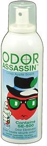 ODOR ASSASSIN Odor Eliminator Crisp Apple Scent