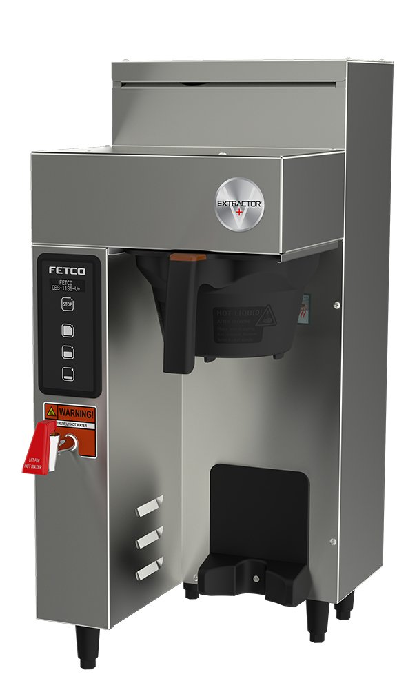 FETCO CBS-1131-V+ Brewer, Stainless Steel, Single 1.0  gal; Digital Touchpad