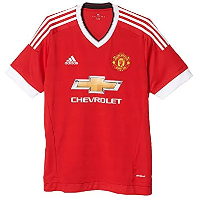 Adidas Mens Climacool Manchester United Home Replica Soccer Jersey