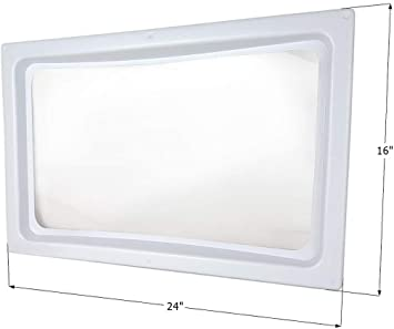 ICON 01981 RV Skylight Dome