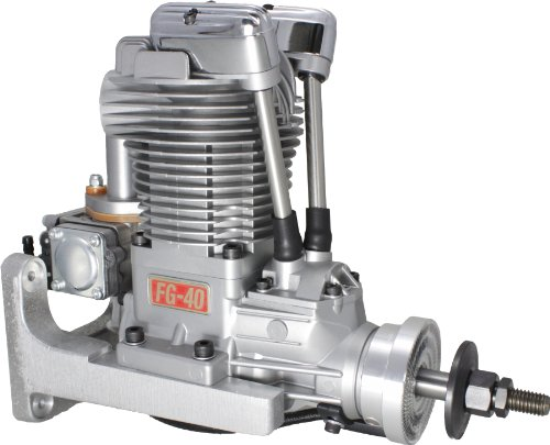 Saito Engines FG-40 Gas Single Cylinder Engine: BQ