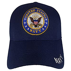 Cap2shoes Men's United States Navy Cap One Size Multi Color