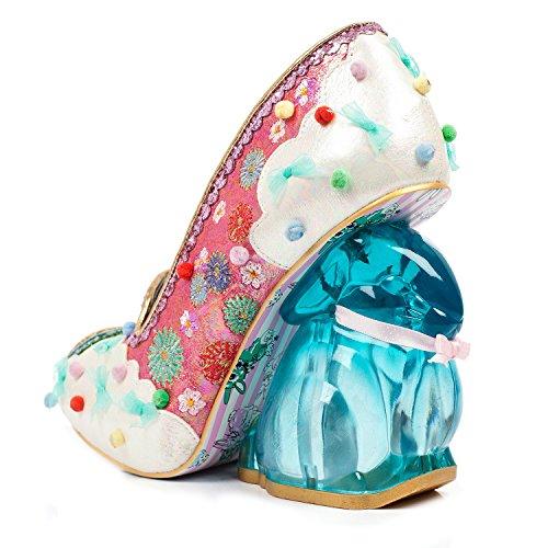 Unique Collectable Heel Rainbunny Pink Rabbit Rainbow Irregular Shoes Choice A46qgg
