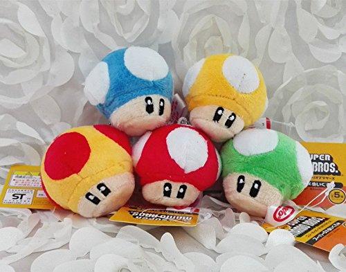 Super Mario Mushroom 5pcs 2