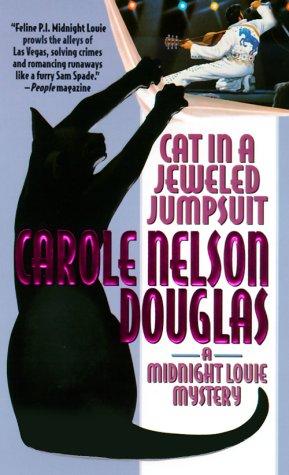 Cat Jeweled Jumpsuit Midnight Mysteries